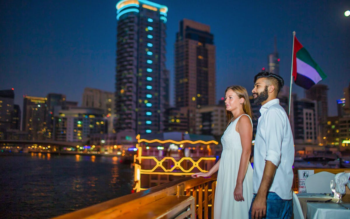 dubai marina dhow dinner cruise with live entertainment-5