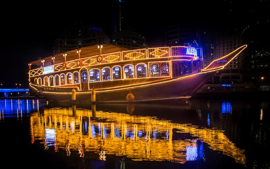 alexandra dhow cruise dinner in dubai marina with live entertainment-0