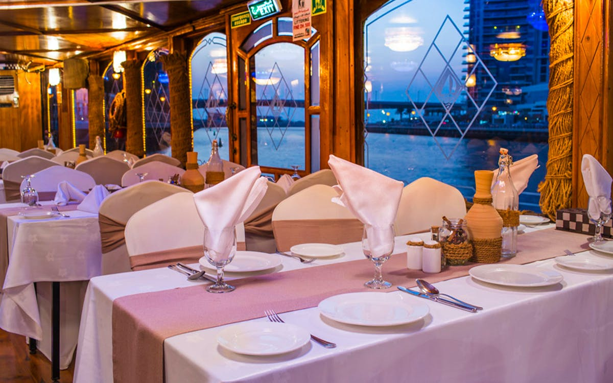 dubai marina dhow dinner cruise with live entertainment-6