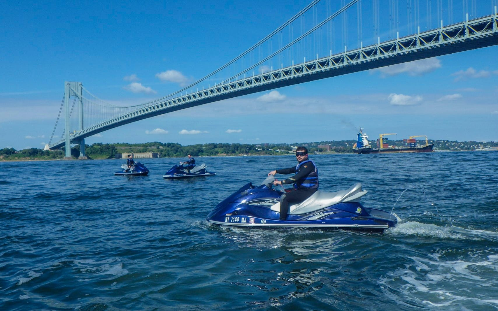statue of liberty & brooklyn bridge - jet ski tour-2