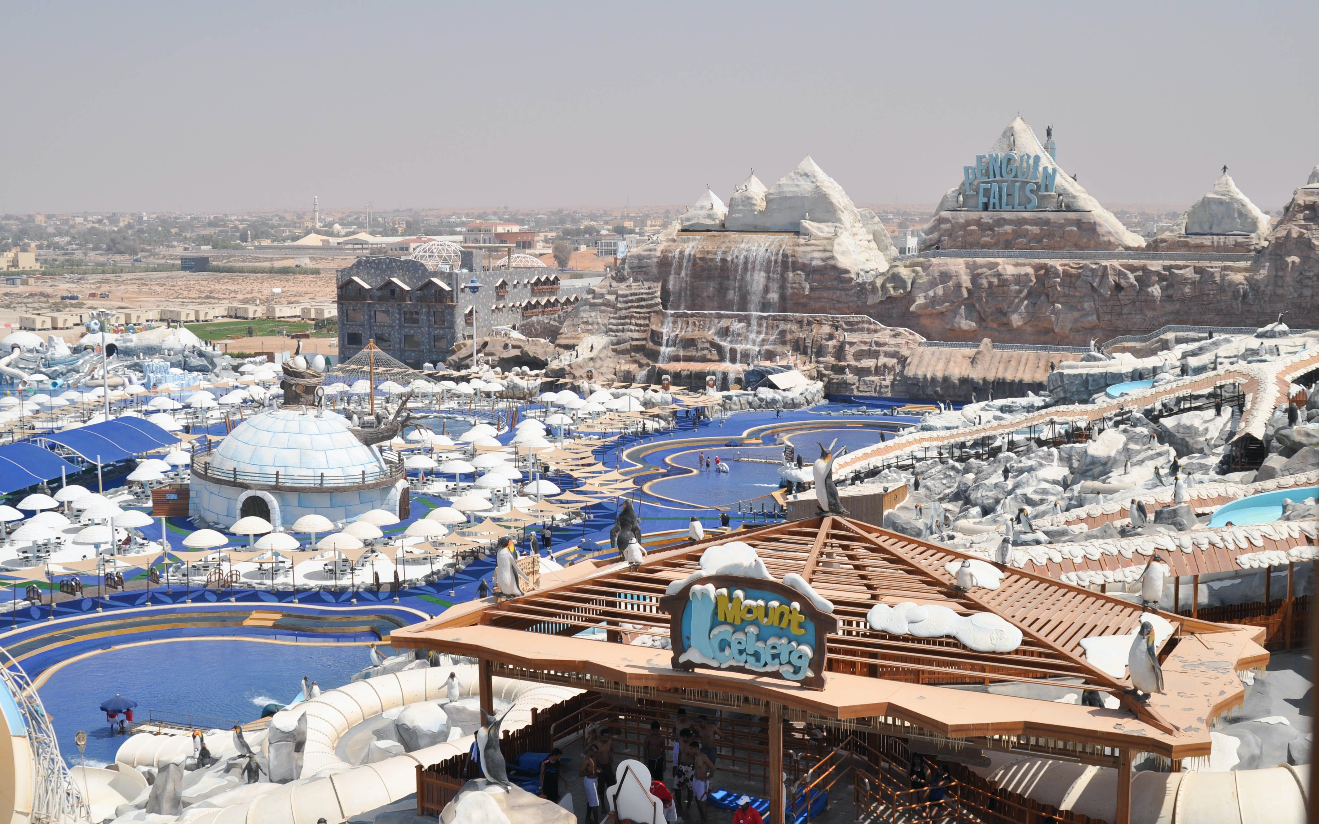 Best Theme Parks in Duabi - Ice Land Waterpark - 3
