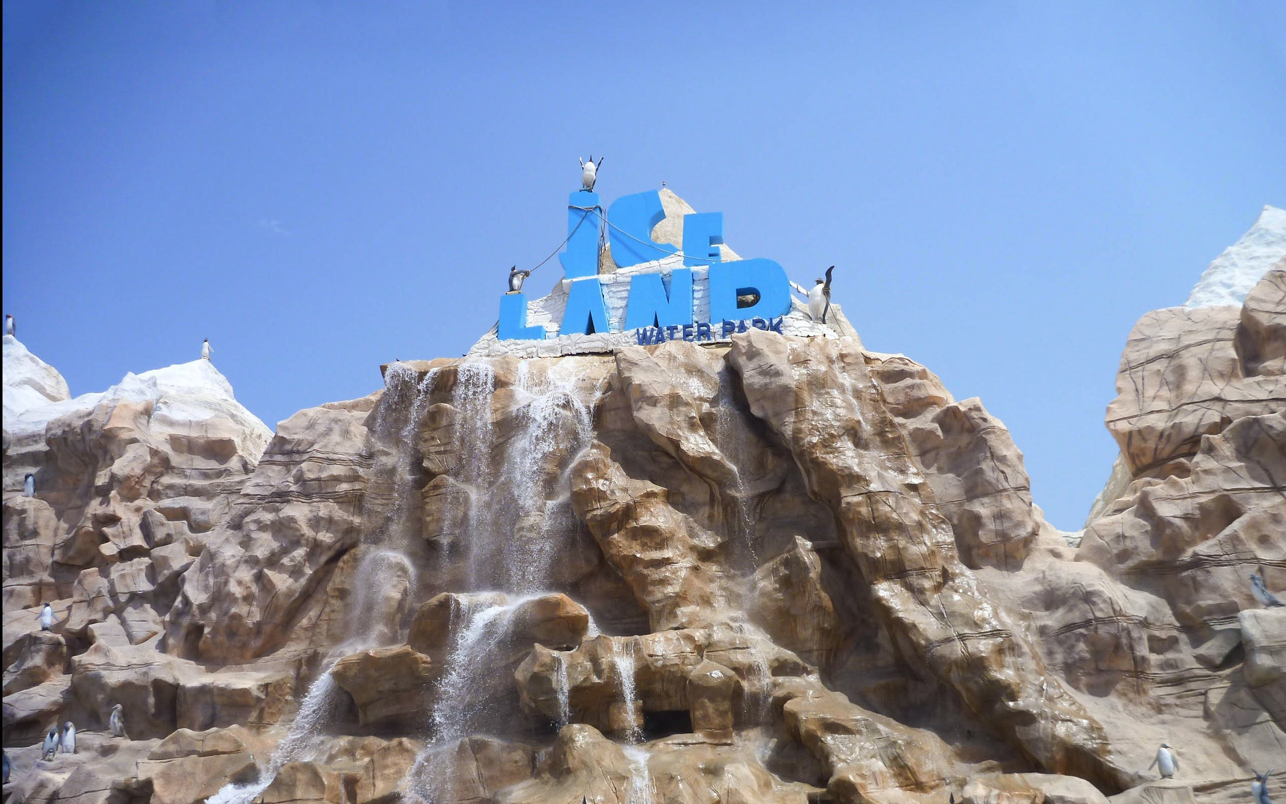 Best Theme Parks in Duabi - Ice Land Waterpark - 1
