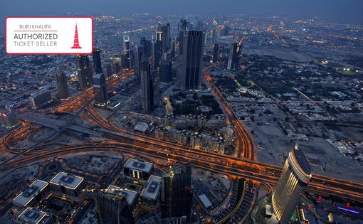 Burj Khalifa: Ingresso Fast Track do At the Top (Andares 124 & 125)