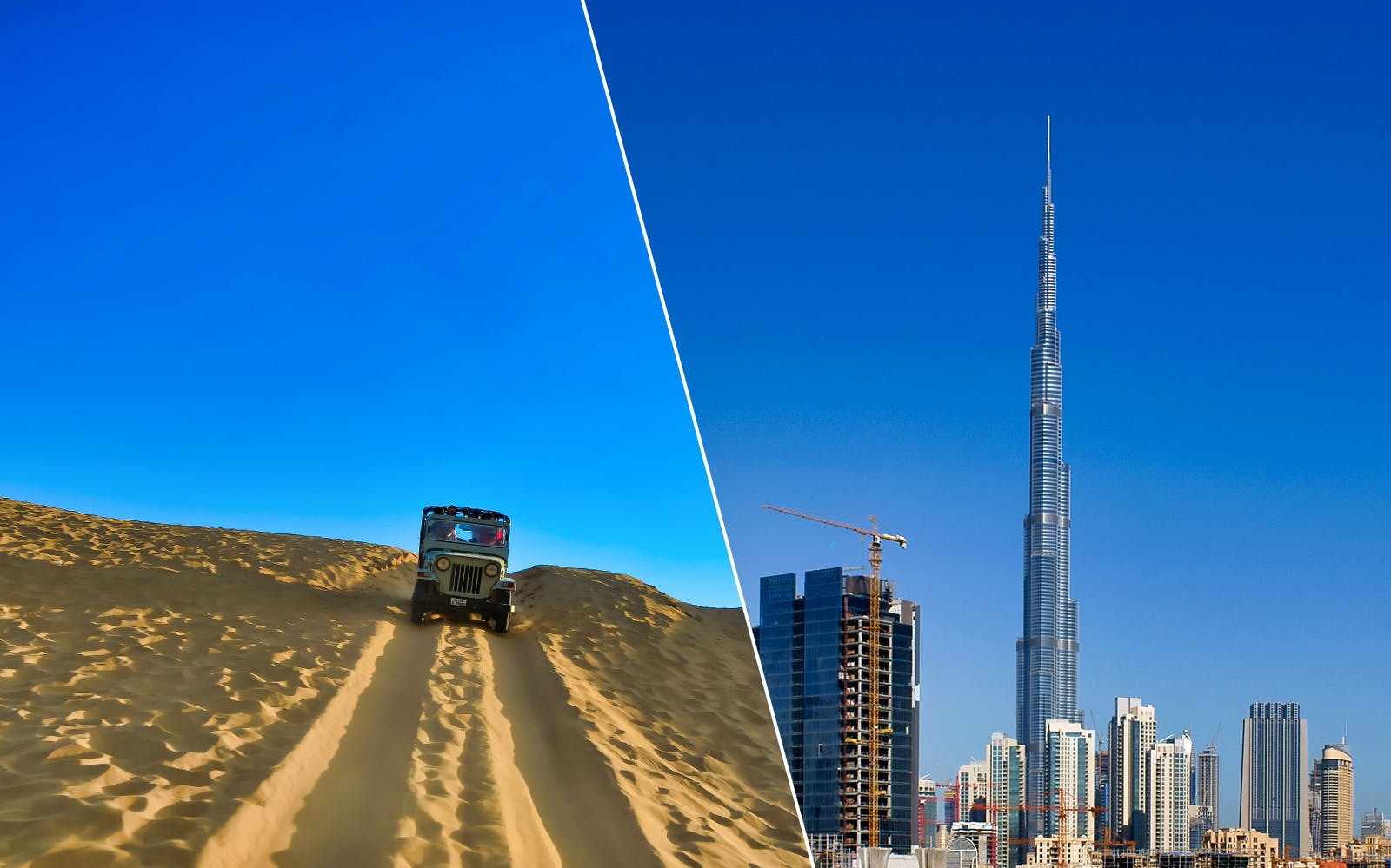 Desert Safari and Burj Khalifa: At the Top (Level 124 & 125)