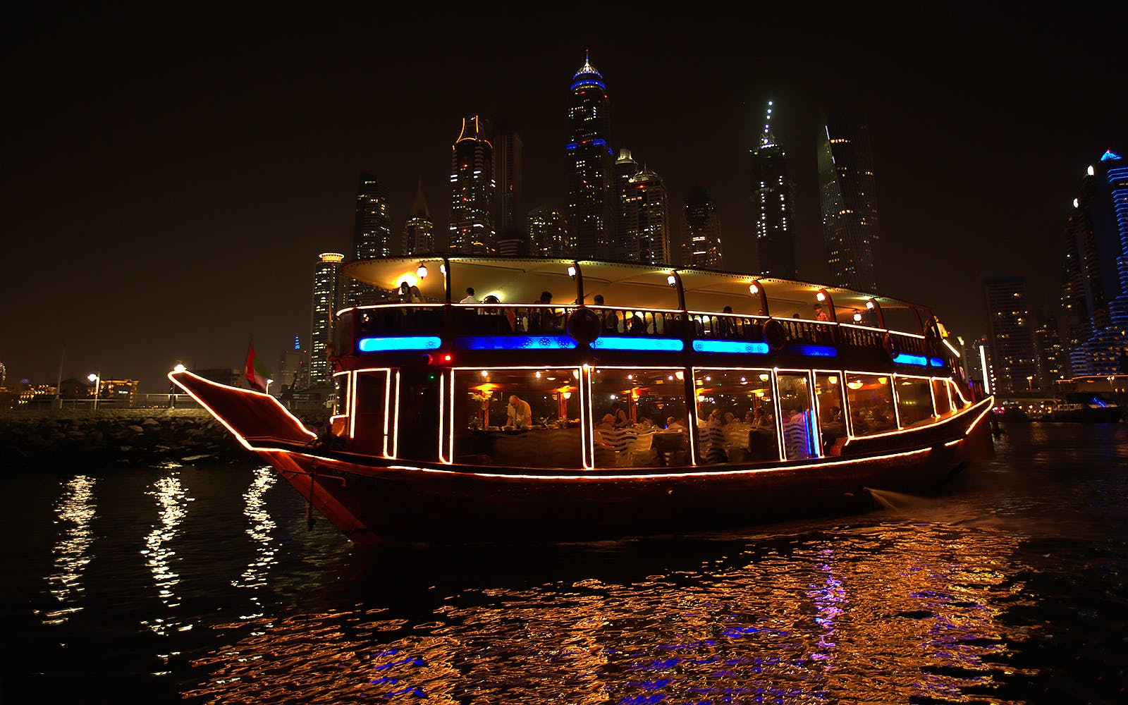 burj khalifa and dhow dinner cruise combo-2