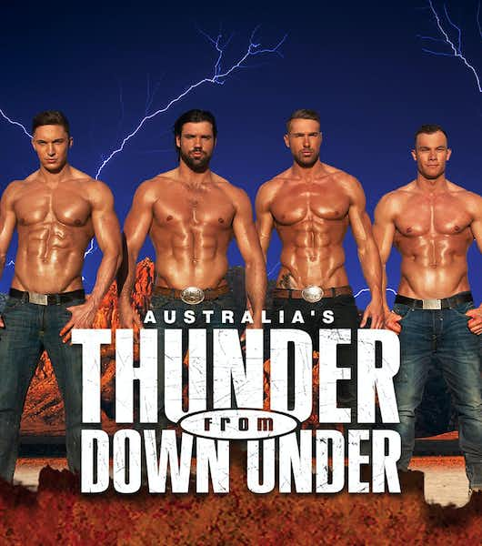 Best Adult Shows in Las Vegas thunder from down under