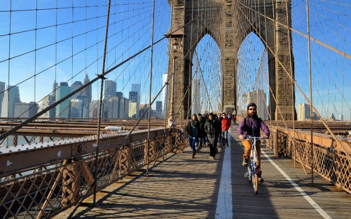 brooklyn bridge bike rental-1