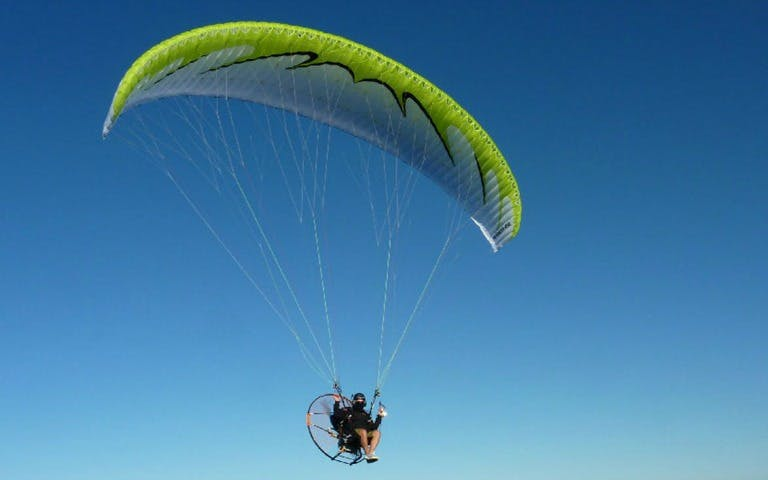 paramotoring flight-1