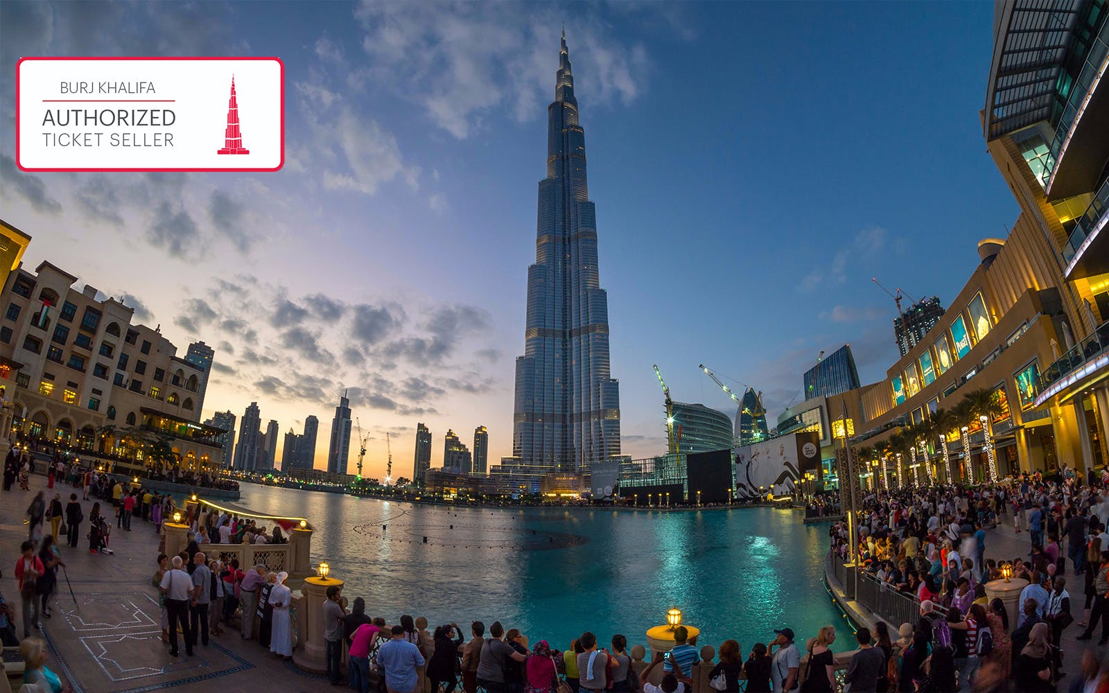 Burj Khalifa: Tramonto At the Top (124° e 125° piano)
