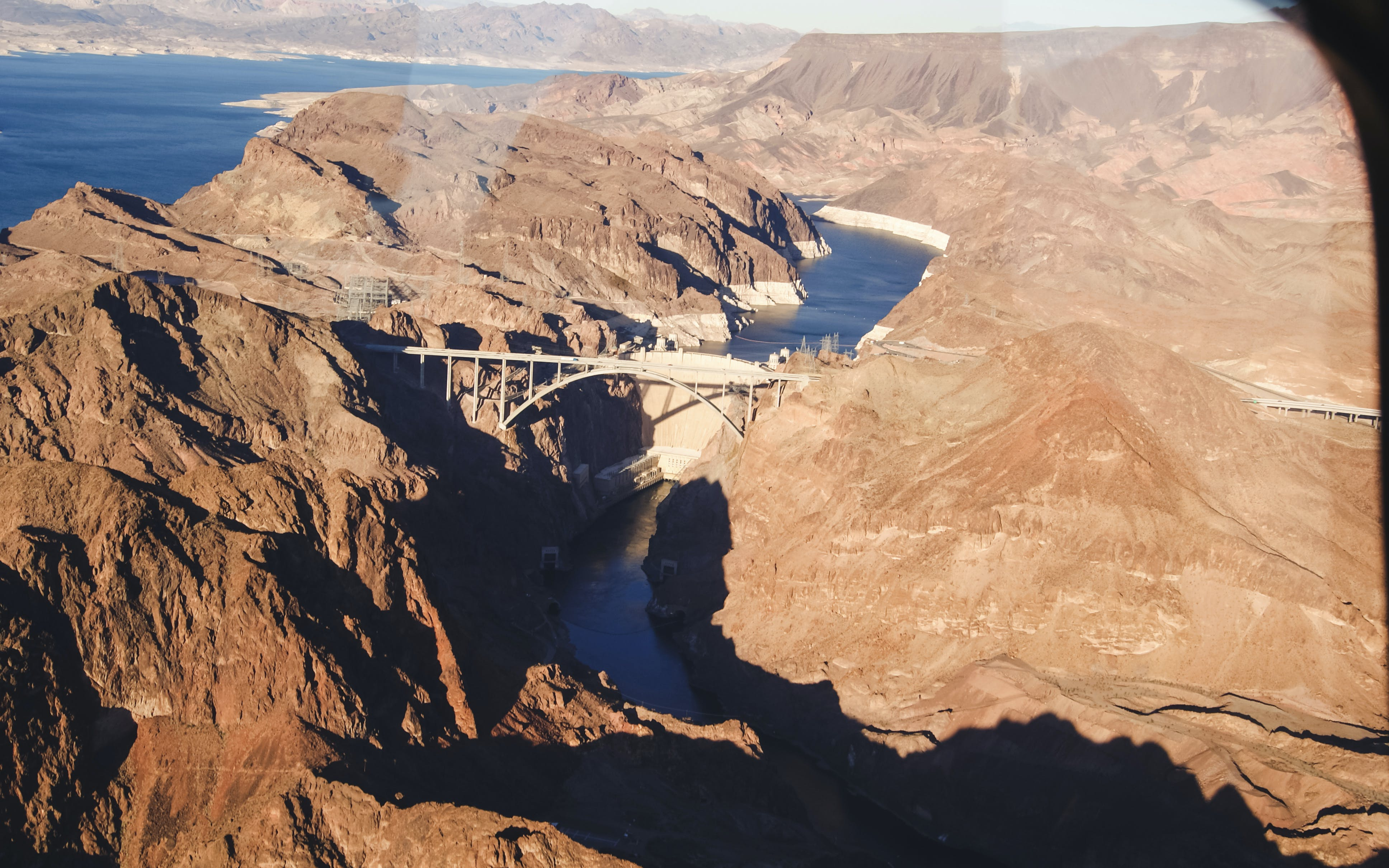 vegas to gc west rim helicopter tour with river cruise and flight over lv strip-5