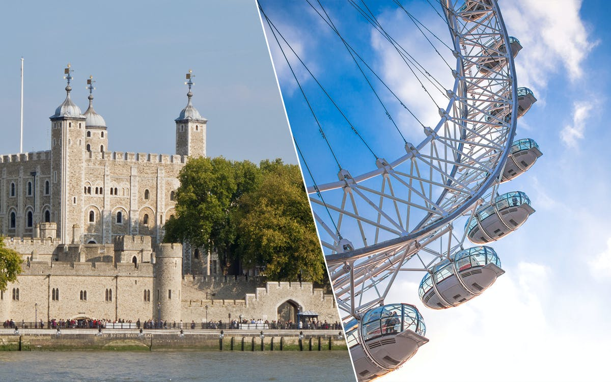 london eye & tower of london tickets -1