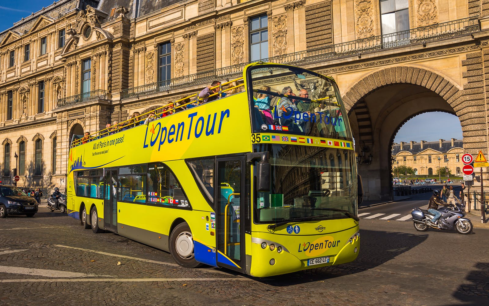 hop-on hop-off - 1 day, 2 day, 3 day paris sightseeing tour-1