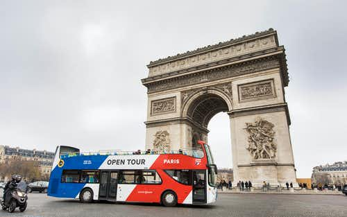 paris hop on hop off tours