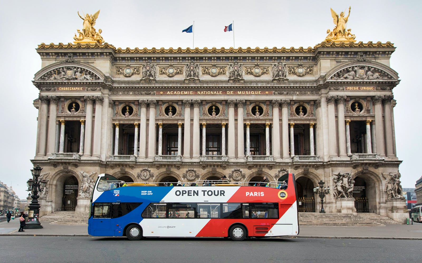 Hop-On Hop-Off - 1 Day, 2 Day, 3 Day Paris Sightseeing Tour