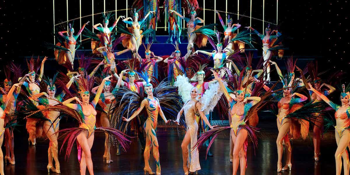 Le Lido Paris show
