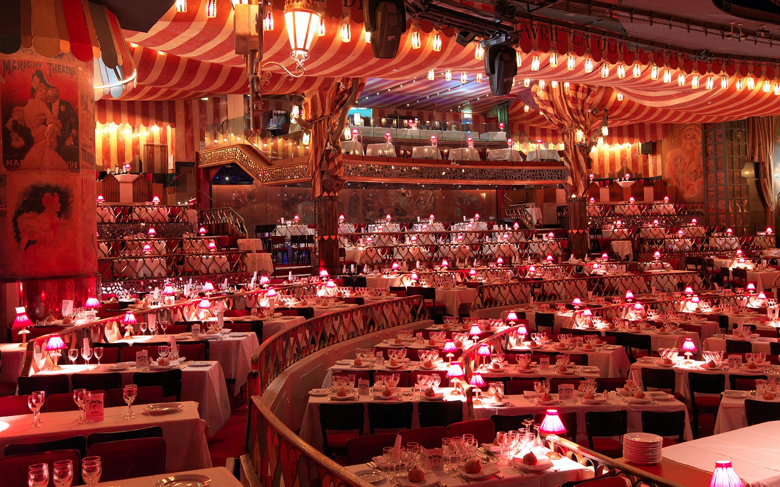 moulin rouge show with dinner -2