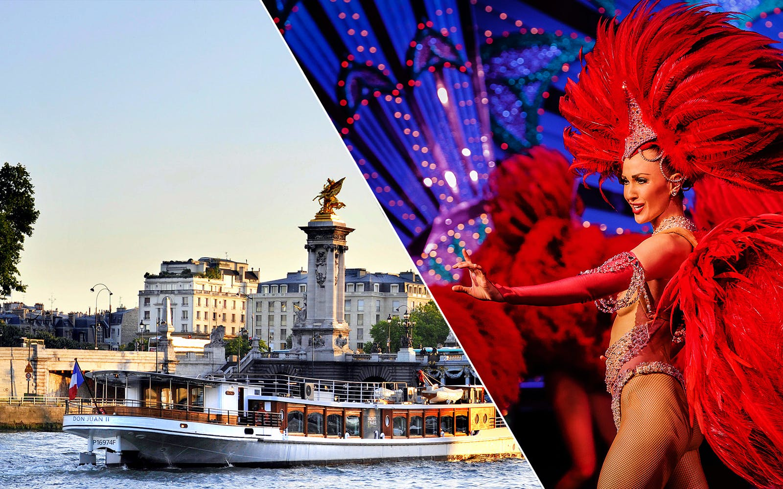 moulin rouge show with champagne + seine river cruise-1