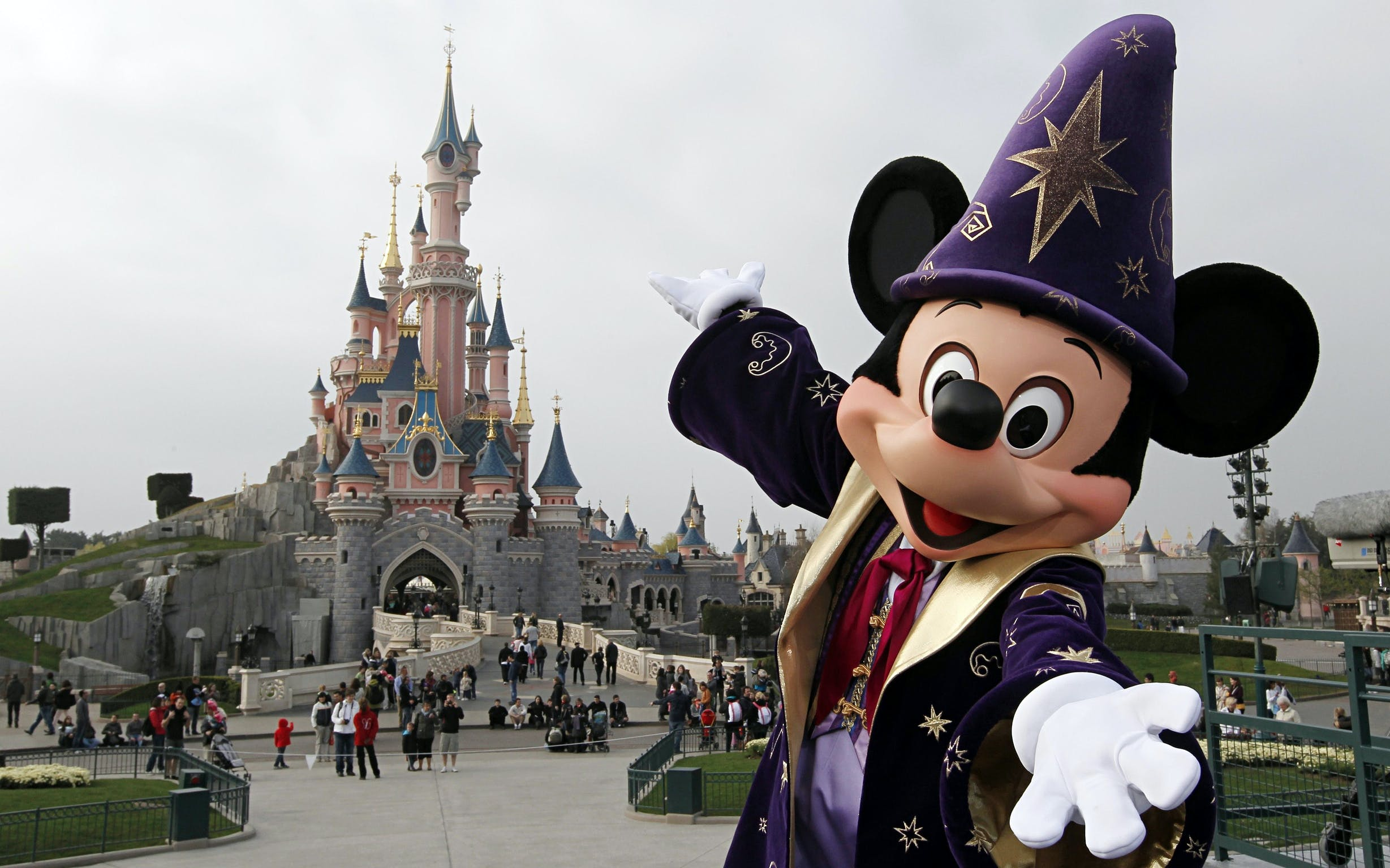 best day trips from paris - disneyland paris