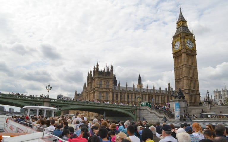 Westminster/London Eye & The Tower Transfer Cruise