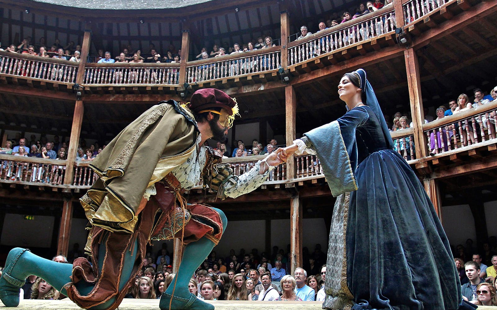 shakespeare globe room: exhibit and tour tickets-2