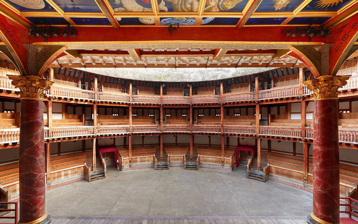 an analysis of the globe theatre architecture