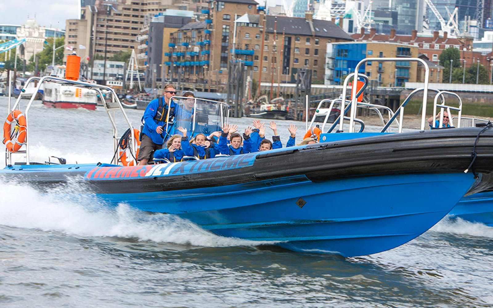 Thames High Speed RIB Boat Experience