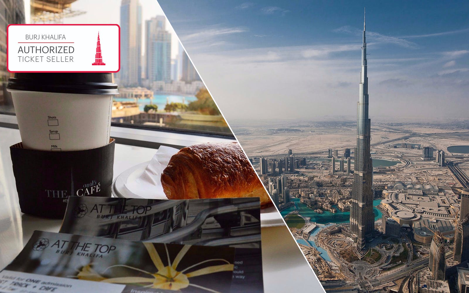 burj khalifa + pastry & coffee at the café-1