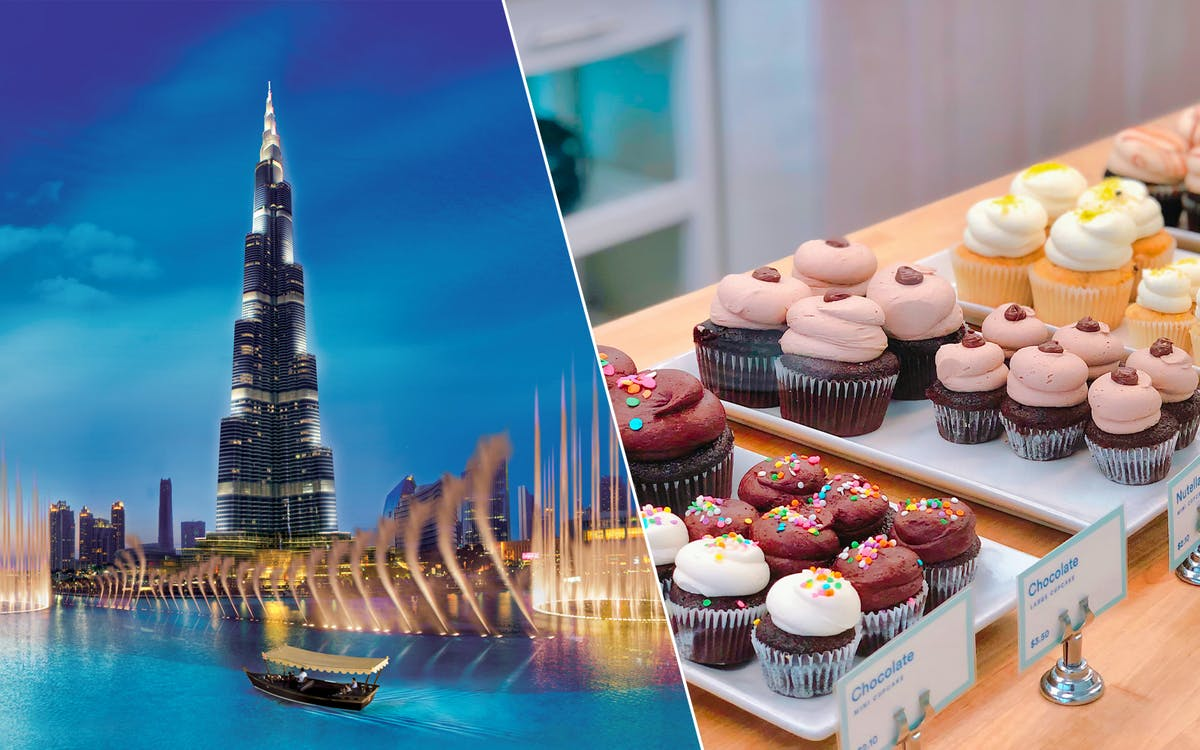 burj khalifa + free pastry & coffee at the café-1