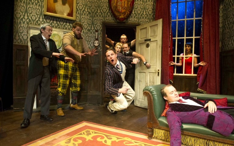 The Play That Goes Wrong Show Cover Photo