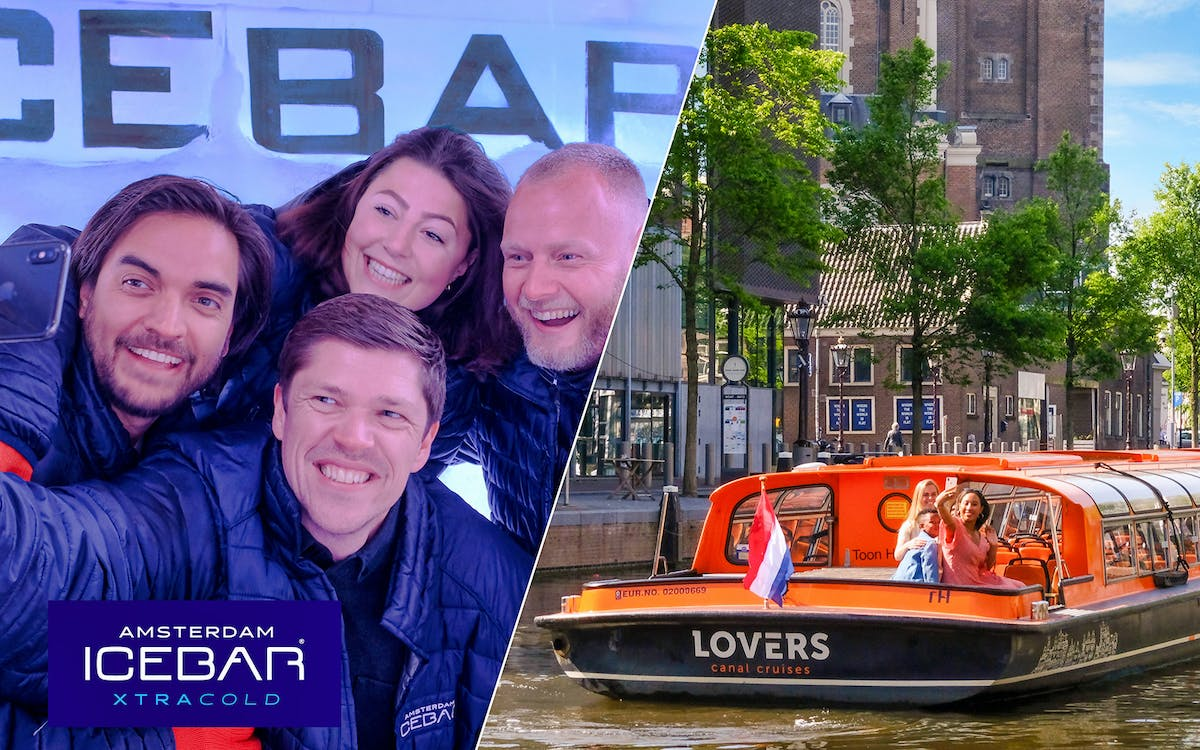 xtracold icebar amsterdam tickets with drinks & optional canal cruise -1