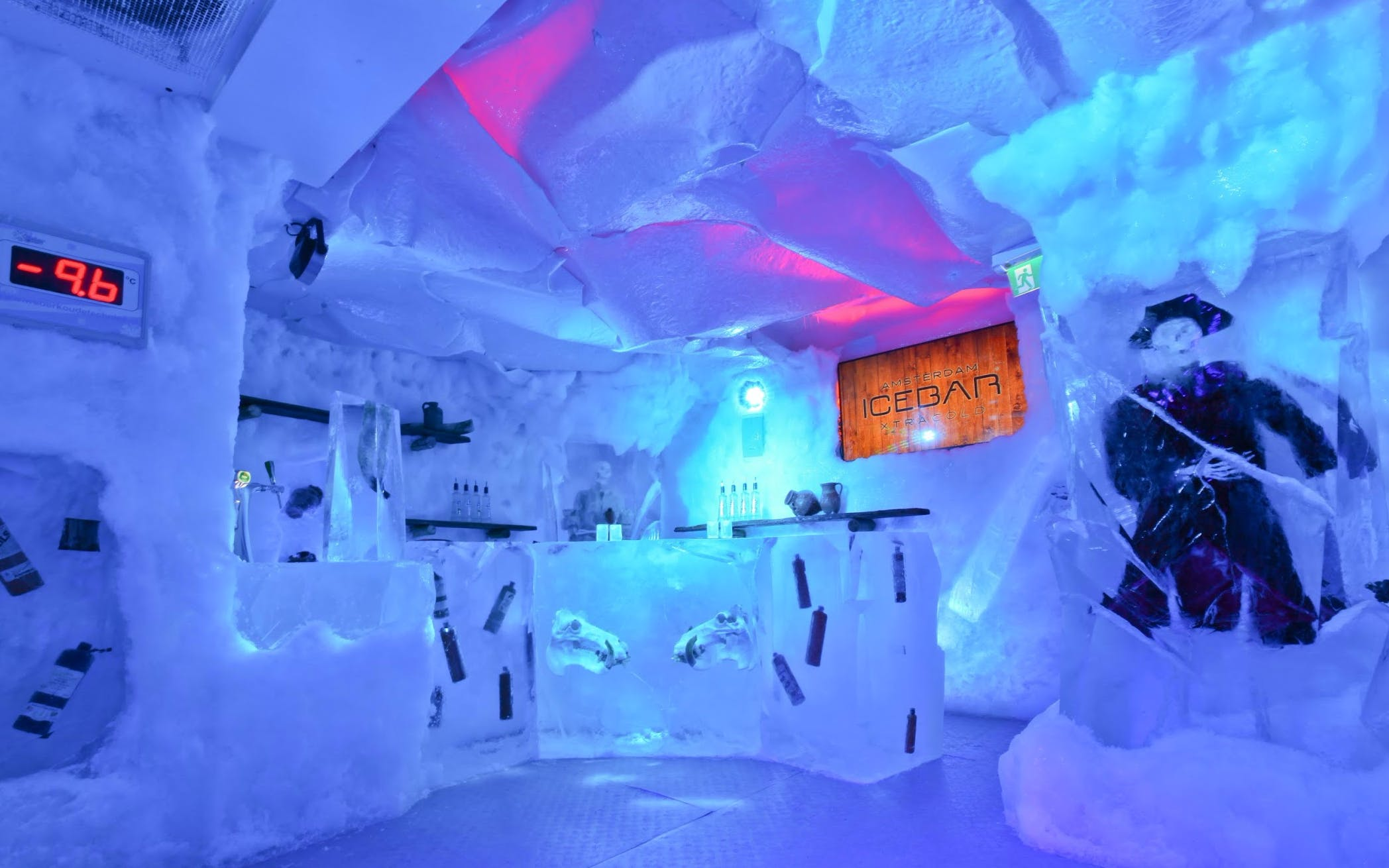 Amsterdam Icebar with Drinks