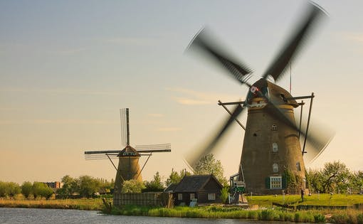 Small Group Tour - Half day trip UNESCO Word Heritage Kinderdijk