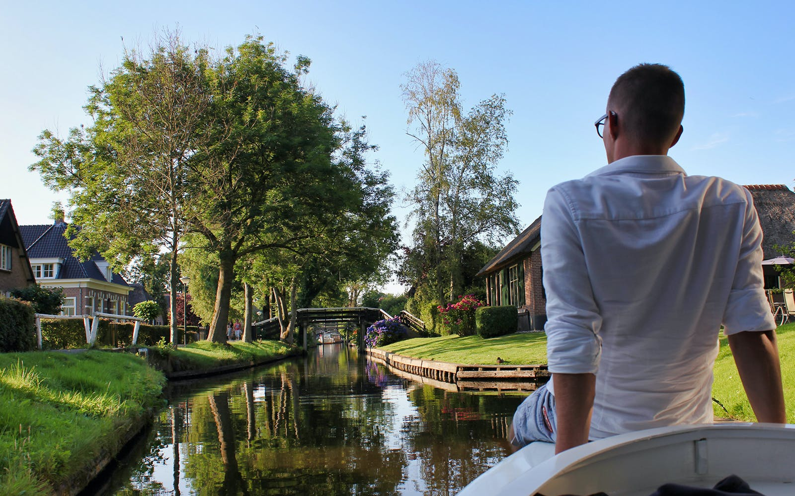 Small group day trip to Giethoorn