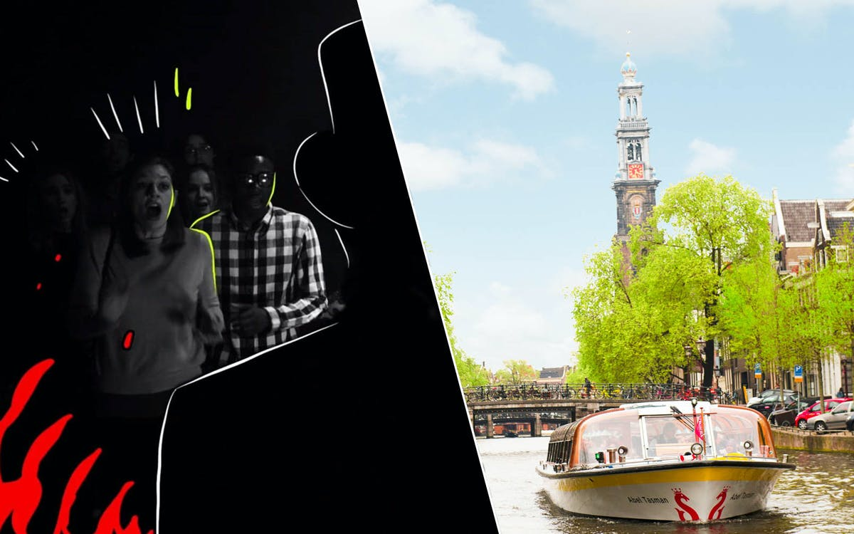 the amsterdam dungeon tickets with optional canal cruise-1