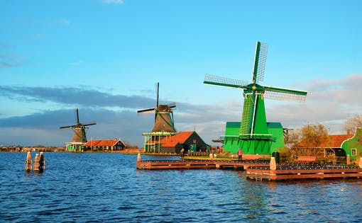 Half Day Visit of Zaanse Schans Windmills from Amsterdam