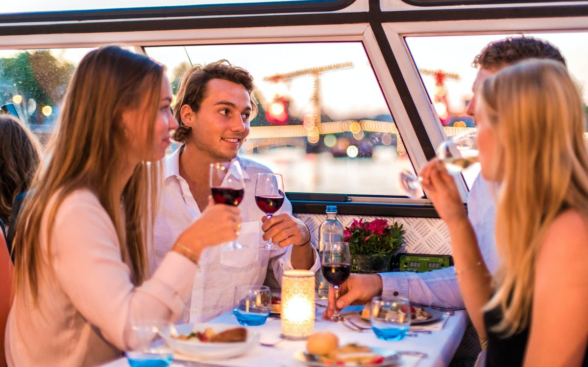 evening canal cruise with 4-course dinner and drinks-6
