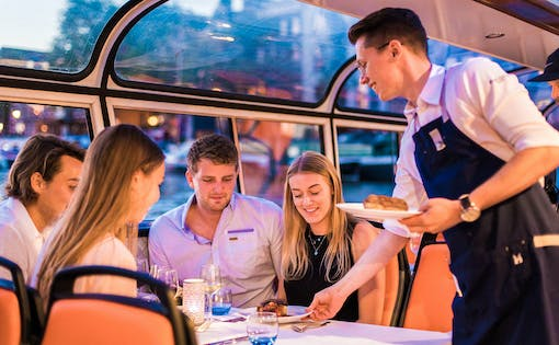 Evening Canal Cruise with 4-Course Dinner and Drinks