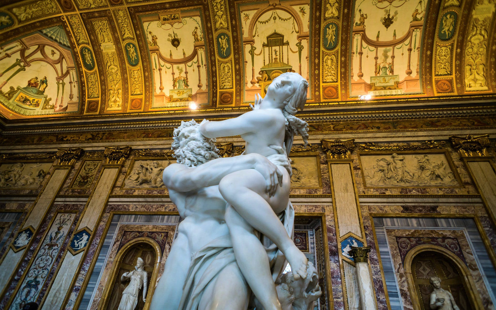 Borghese Gallery and Gardens Half Day Tour with Hotel Pickup