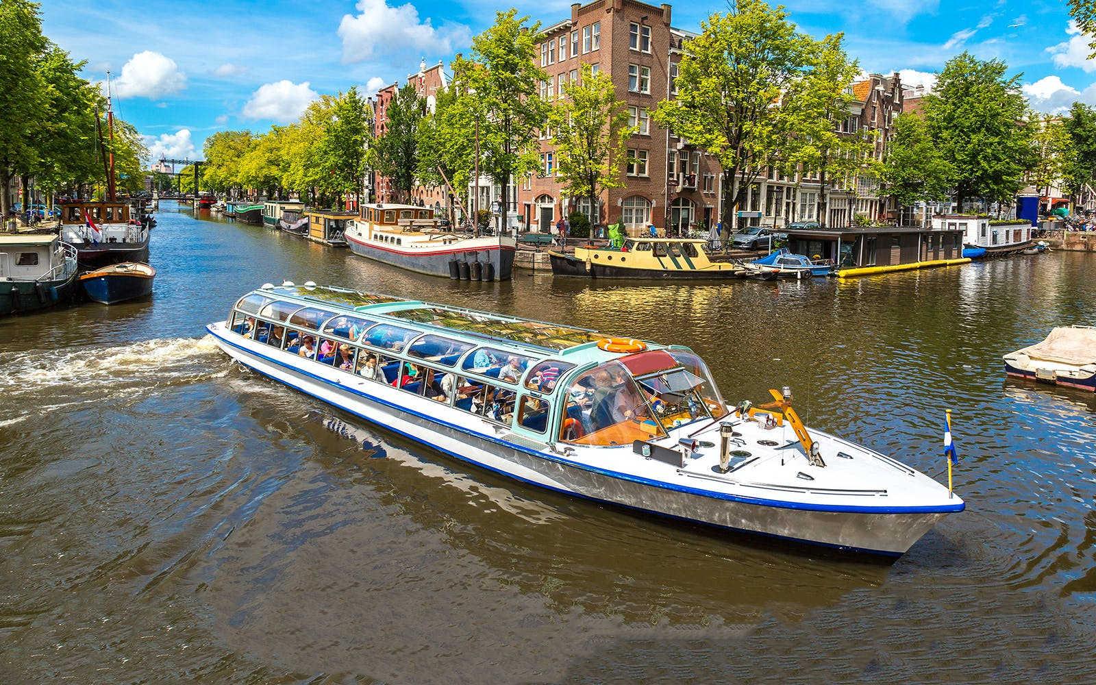 Amsterdam Canal Cruise hop on hop off