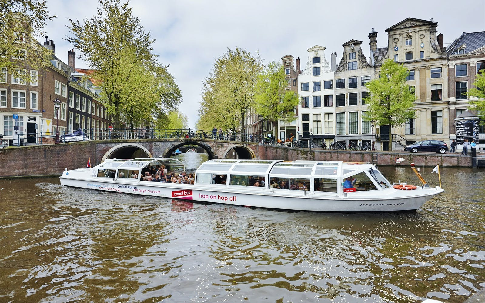 Hop-On Hop-Off Canal Cruise