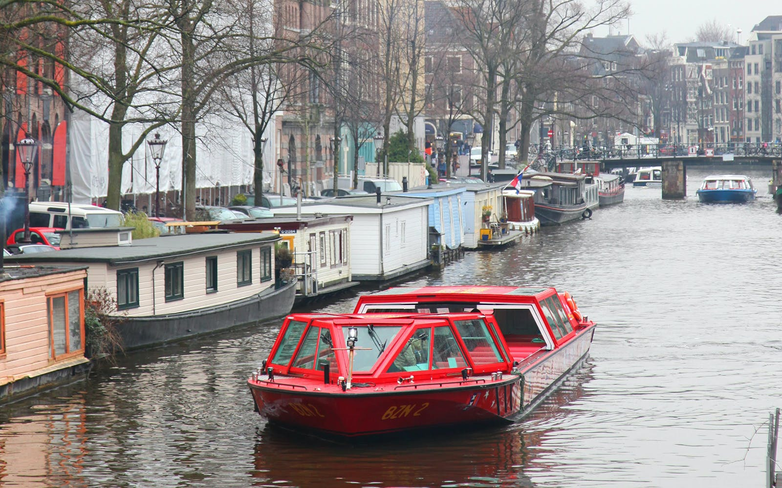 Amsterdam Hop On Hop Off Boat Tour