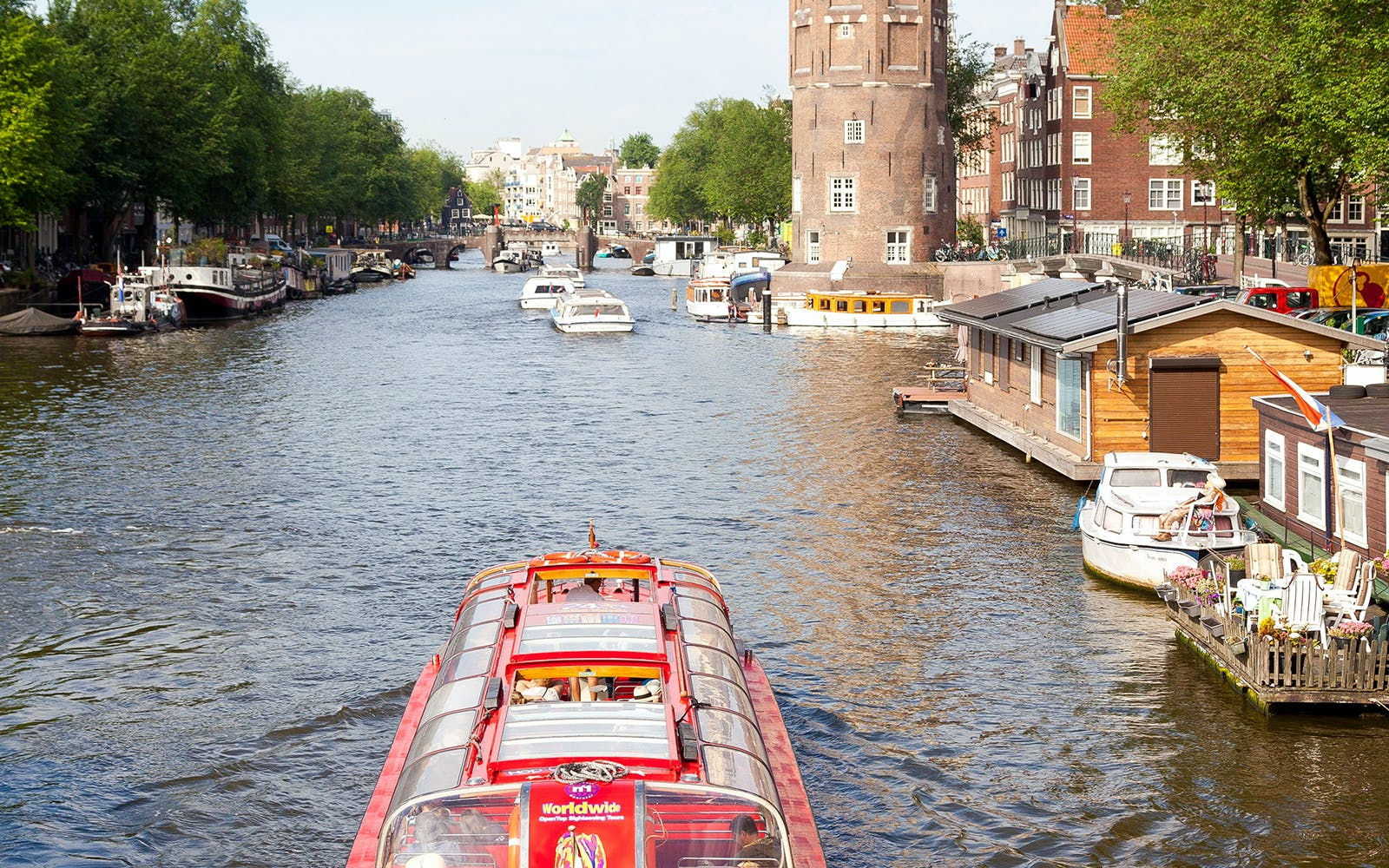 amsterdam hop on hop off boat tour-3