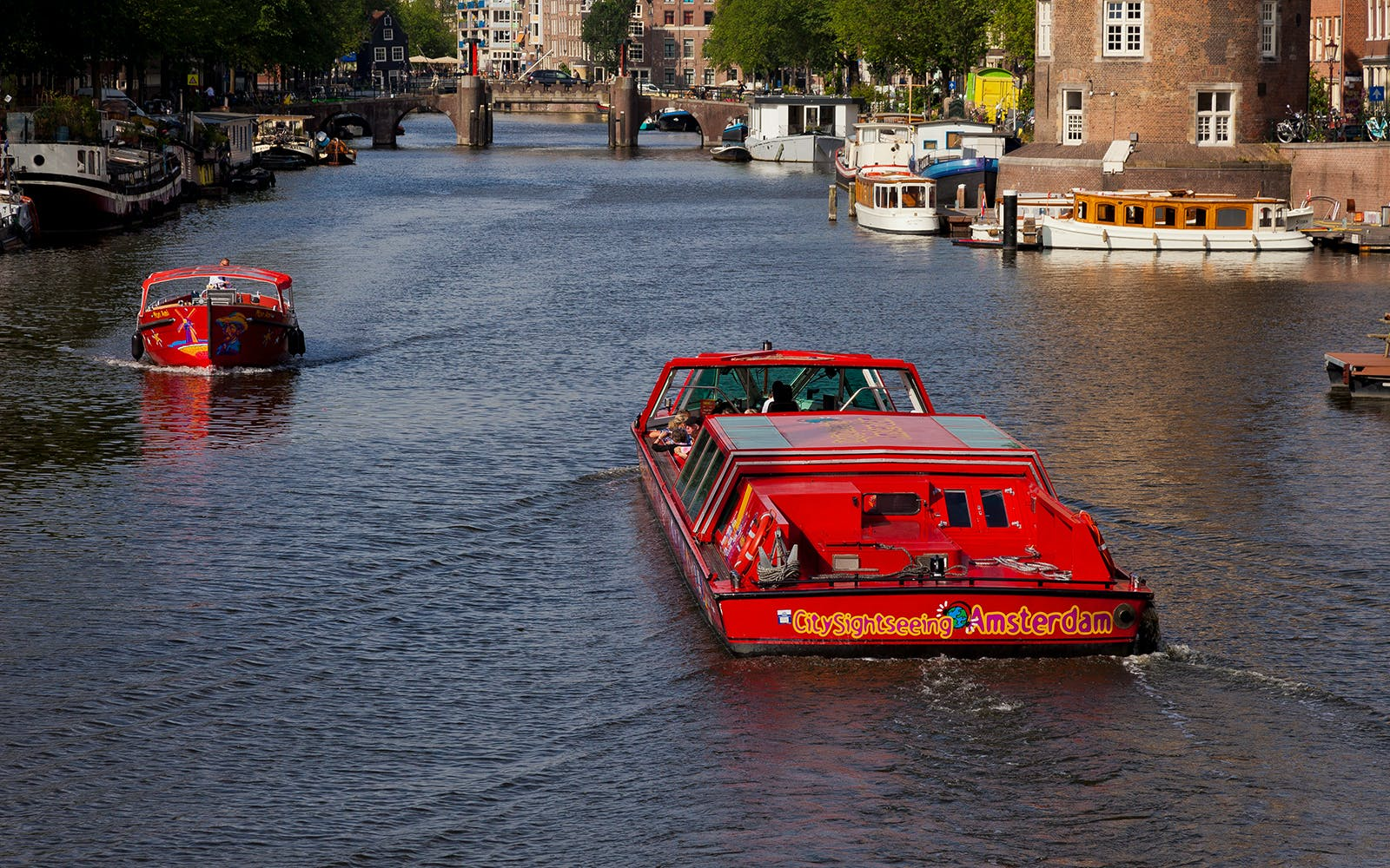 amsterdam hop on hop off boat tour-4