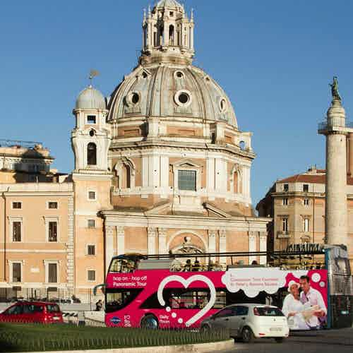 rome hop on hop off bus