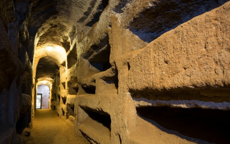 roman catacombs and ancient appian way-1
