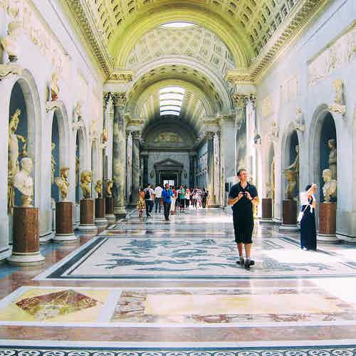 vatican museum skip the line guided tour