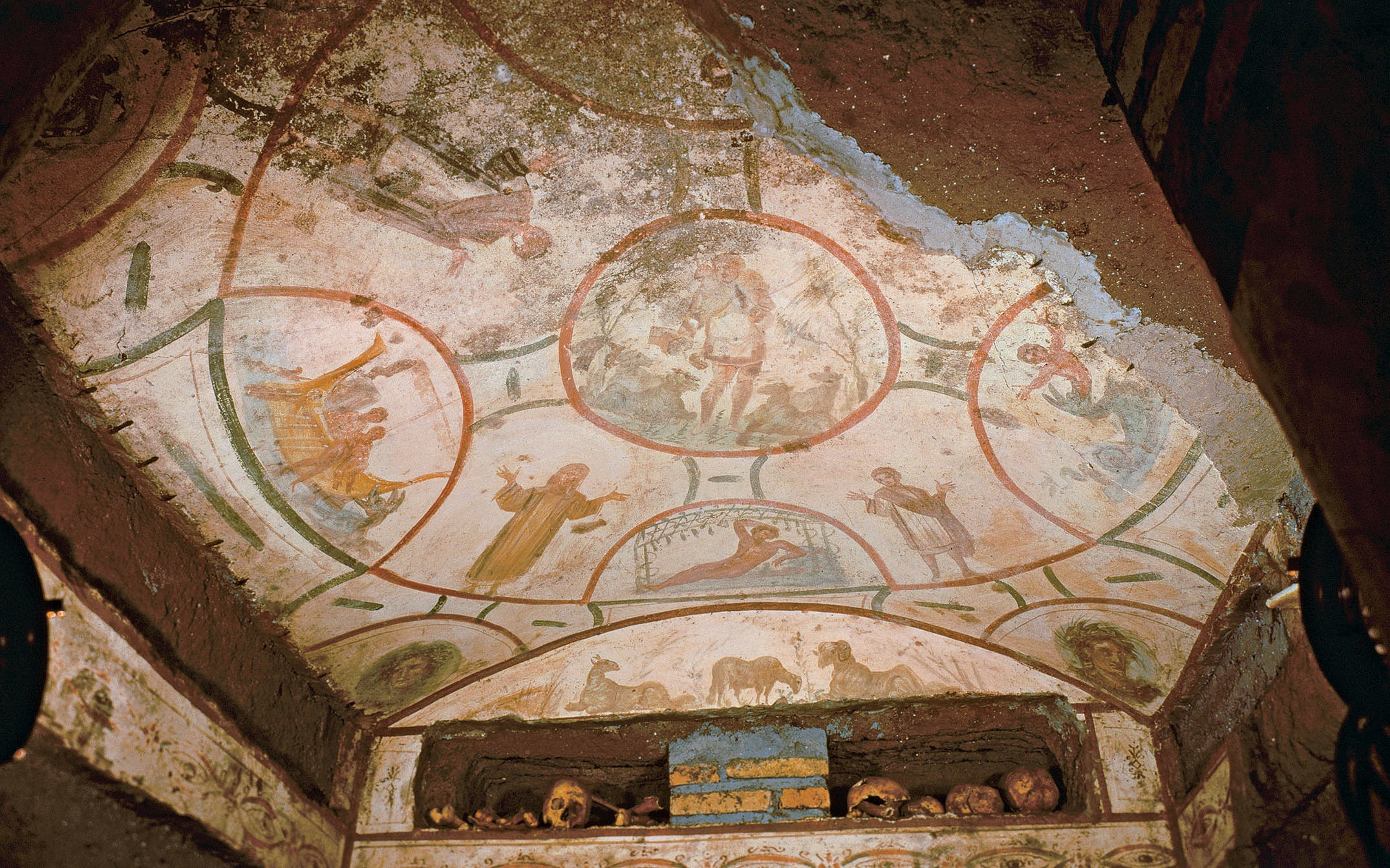 rome crypts catacombs - 1