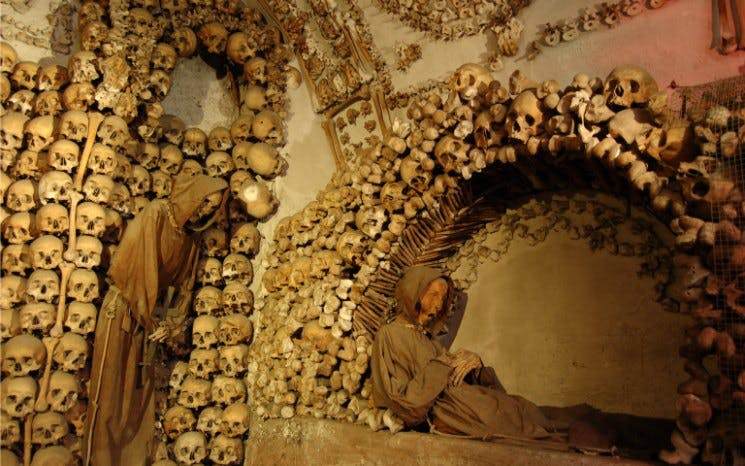 "rome crypts and catacombs tour - with capuchin ""bone chapel"" visit -1"