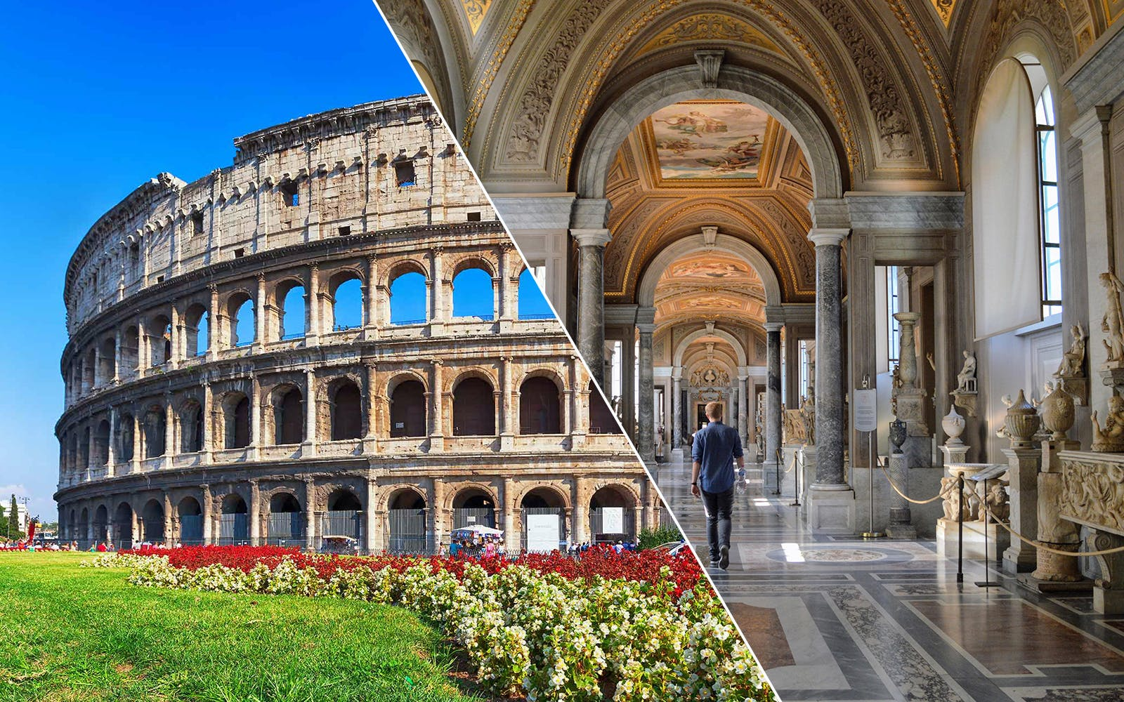 skip the line guided tour of colosseum, vatican museums & sistine chapel-1