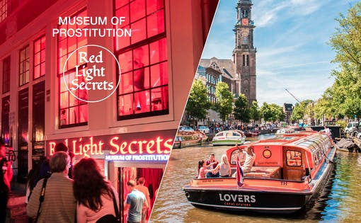 Red Light Secrets & 1 Hour Canal Cruise